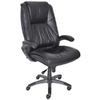 Mayline Black Leather High-Back Swivel/Tilt Executive Office Chair @ Overstock.com