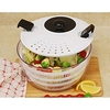 White 4.5-quart Salad Spinner @ Overstock.com