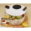 Salad Spinner 4.5-quart Capacity with Bonus Mini Twist Chopper @ Overstock.com
