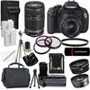 Canon EOS Rebel T3I Digital SLR Camera with 18-55mm & 55-250 IS II Lens Bundle @ Overstock.com