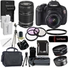 Canon EOS Rebel T3I Digital SLR Camera with 18-55mm & 55-250 IS II Lens Bundle @ Overstock.com