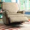 Chloe Sand Fabric Nursery Swivel Glider Recliner Chair @ Overstock.com