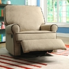 Chloe Sand Fabric Nursery Swivel Glider Recliner Chair @ Overstock.com