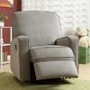 Colton Gray Fabric Modern Nursery Swivel Glider Recliner Chair @ Overstock.com