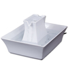 Drinkwell Pagoda Porcelain Pet Drinking Fountain, 70 oz () @ PETCO.com