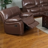 Furniture of America Jojo Classic Brown Bonded Leather Glider Recliner Chair @ Overstock.com