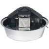 PetSafe Drinkwell Stainless Steel Zen Water Fountain, 1 Gallon () @ PETCO.com