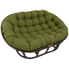 Blazing Needles 48x65-inch Indoor/ Outdoor Double Papasan Cushion @ Overstock.com