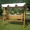 International Caravan Royal Tahiti 3-seater Outdoor Swing with Canopy @ Overstock.com
