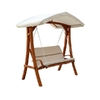 Wooden Swing Seater with Canopy @ Overstock.com