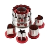 Cake Boss Red Decorating Tools 6-Piece Classic Linzer Cookie Cutter Set @ Overstock.com