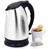 Stainless Steel 10-cup Cordless Electric Kettle @ Overstock.com