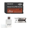 Sony 8GB Memory Stick Pro Duo Mark 2 with Adapter @ Overstock.com